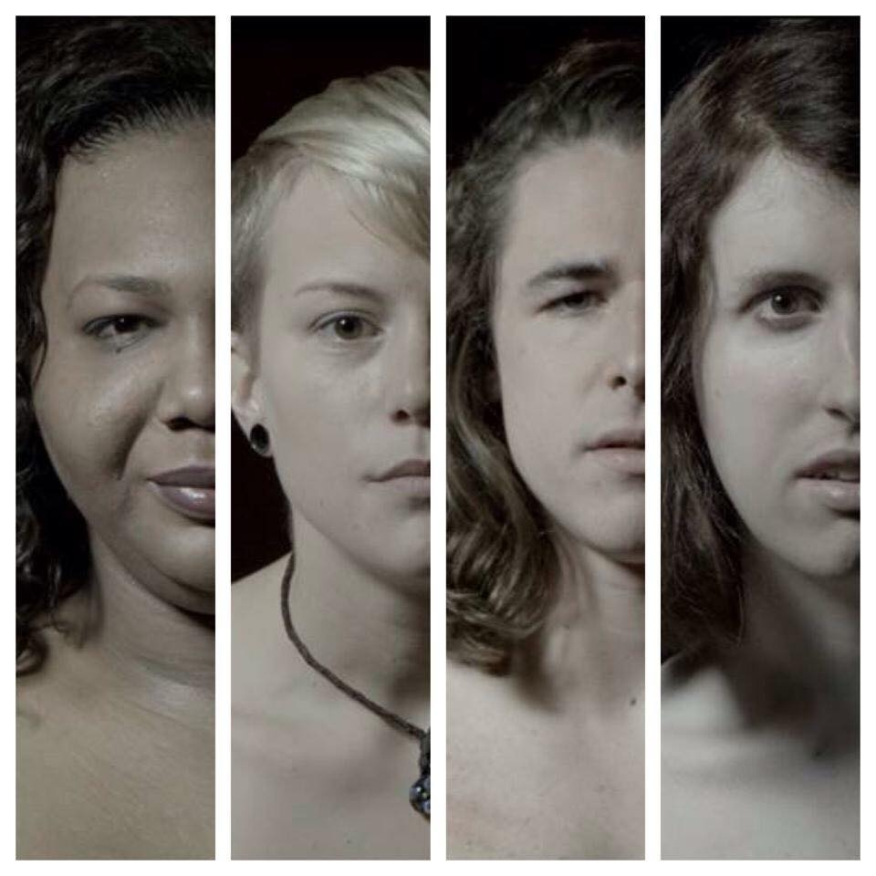 Photo provided by Rami Alkadi : ( left to right )Mia Nicole Bone't, Chris Polite, Joey Smith, Mine Dogû