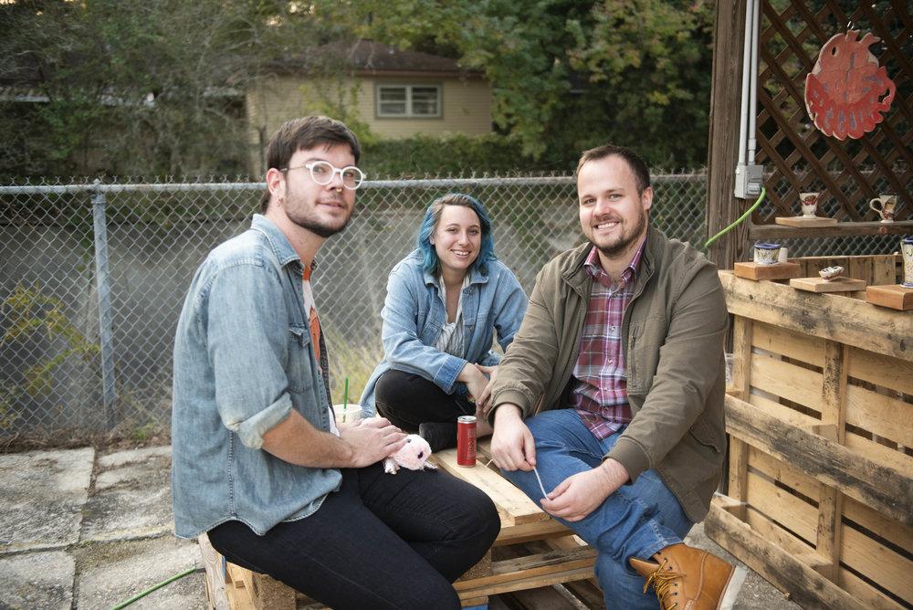 Ian Park, left, Emery K. Tillman, center, Joe Nivens, right.