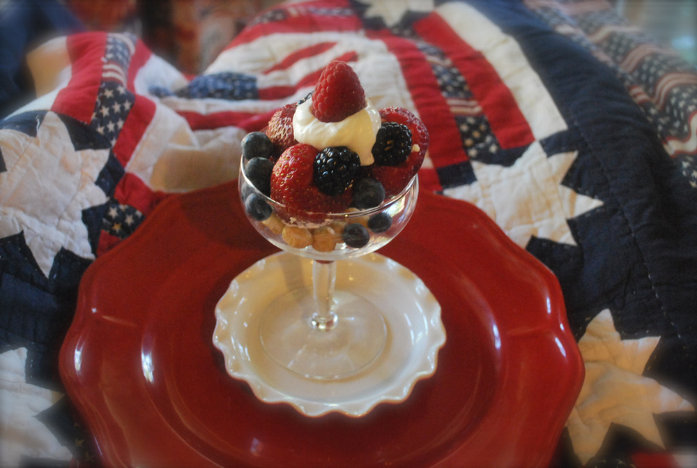 Sgt. Hill's Independence Day Sundae