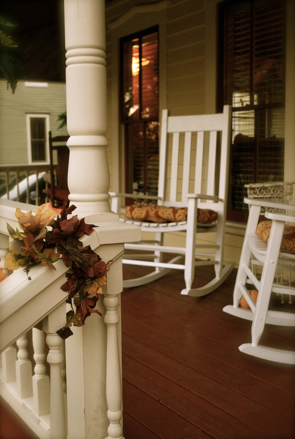 Finish off a bad week with a really good porch!