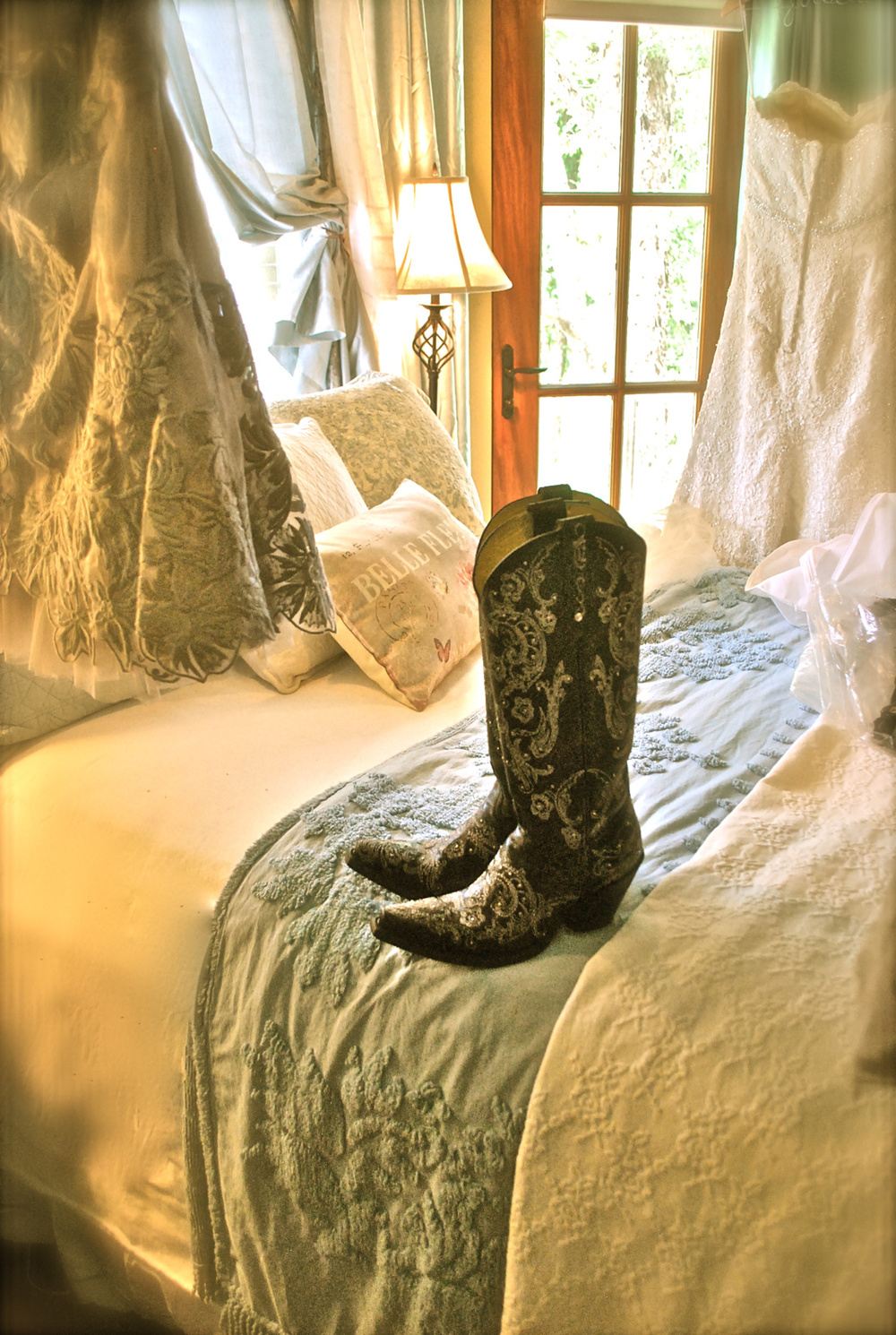 At McKBnB, we only take our boots off for one thing...