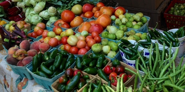 McKinney is home to the best Farmer's Market in Texas!  Click here for details!
