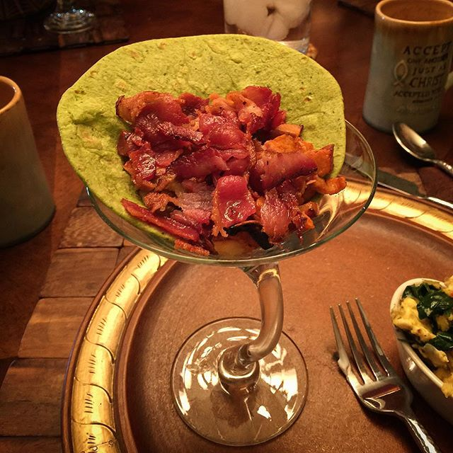 Sweet Potato Bacon Martini