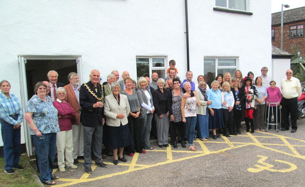 Past Wiveliscombe Community Centre Volunteers