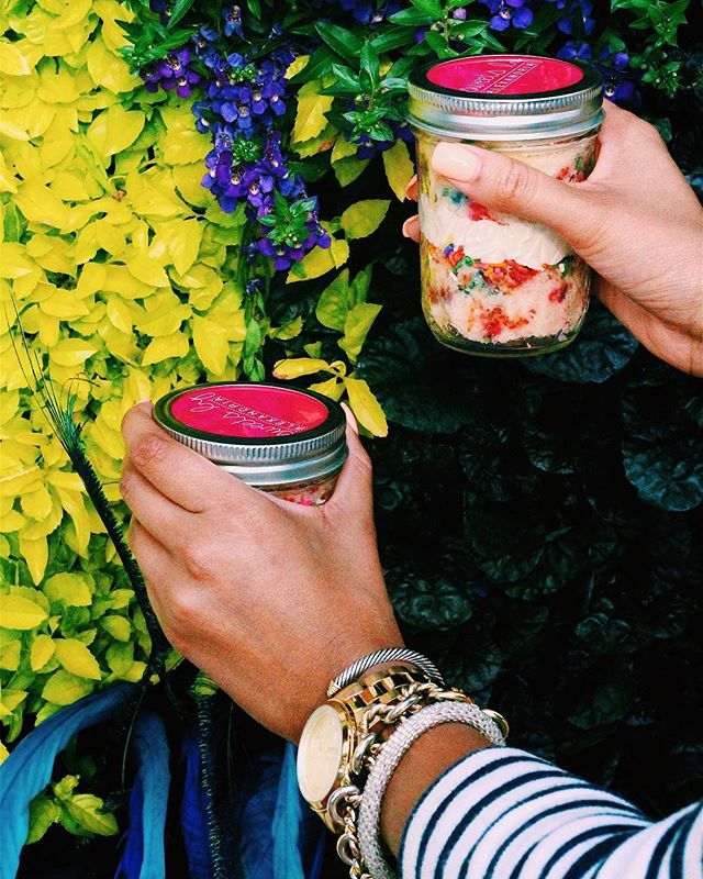 JARS and Arm Candy 😍💕💎 what could be better seriously!?   #sweetsbyalexandria #foodography #foodiesofig #foodblogger #foodblogfeed #foodporn #foodforlife #foodfashion__ig #foodfashion #fashionfood #fashionfoodie #raleighfoodies #raleighfoodpics #durham #raleigh #chapelhill #fashionbloggerstyle