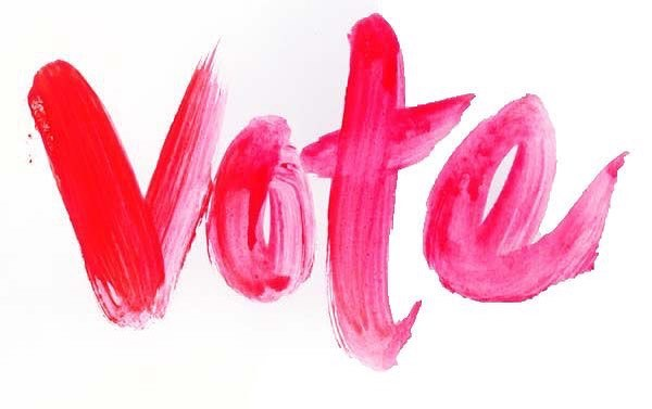 VOTE. Your voice matters.