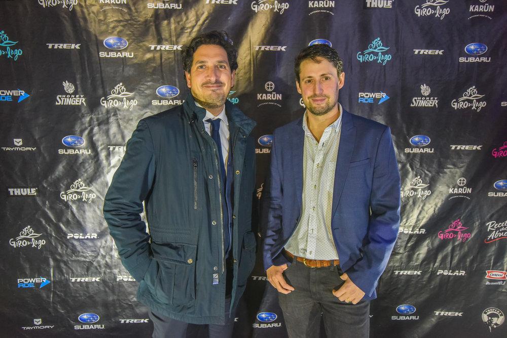 Claudio Basualto y José Tomás Noguera