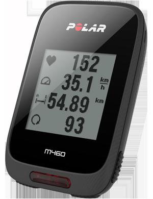 Polar M460 - Compatibilidad: Es compatible con varios medidores de potencia con Bluetooth.Strava Live Segments: Te alerta cuando te acercas a uno de tus segmentos de Strava marcados como destacados, proporcionándote datos en tiempo real sobre tu rendimiento y mostrándote resultados al finalizar el segmento.GPS y barómetro: Realiza seguimiento a tu velocidad, distancia, altitud e inclinación con el GPS y el barómetro.Medidor de frecuencia cardíaca: Conecta el Polar M460 con el sensor de frecuencia cardíaca Polar H10 y descubre los beneficios del entrenamiento basado en la frecuencia cardíaca, un indicador confiable de la intensidad de tu actividad física que te ayuda a entrenar de manera más eficaz.Batería larga duración: Cuenta con una batería que dura hasta 16 horas de entrenamiento.Notificaciones: Mantente conectado durante tus recorridos con notificaciones inteligentes desde el teléfono.Seguridad: Cuida de tu seguridad con una luz LED frontal.Duración: Tiene un diseño elegante y un acabado estilo en fibra de carbono. Los botones laterales son texturizados para facilitar su uso.https://tienda.sportoptic.cl/producto/m460/