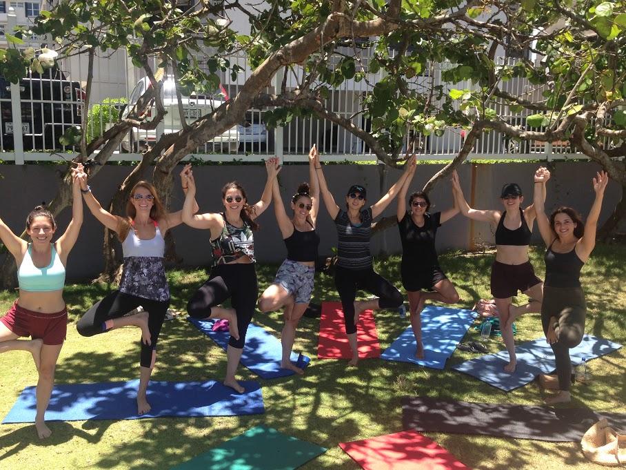 Bachelorette Party Yoga