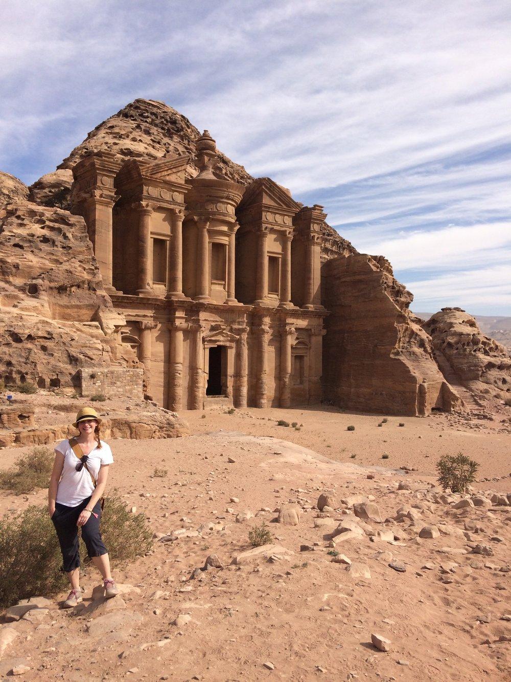 - Petra's Monestary.