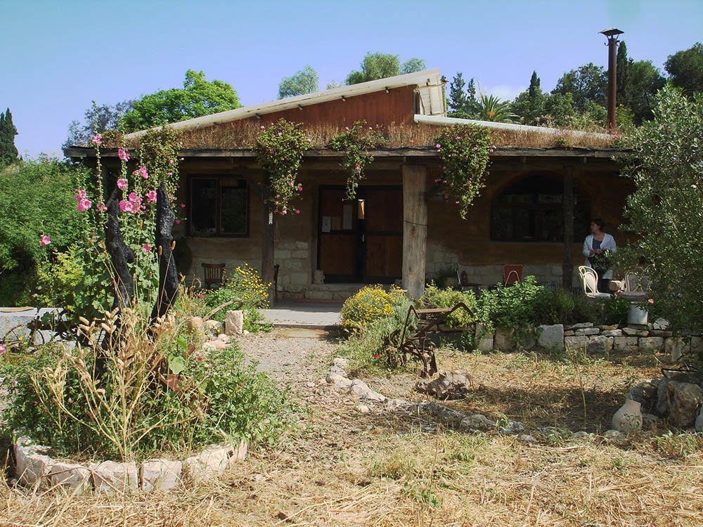 The Noymeir family's headquarters at Rish Lakish, Zippori. Photo copyright © Cookie West