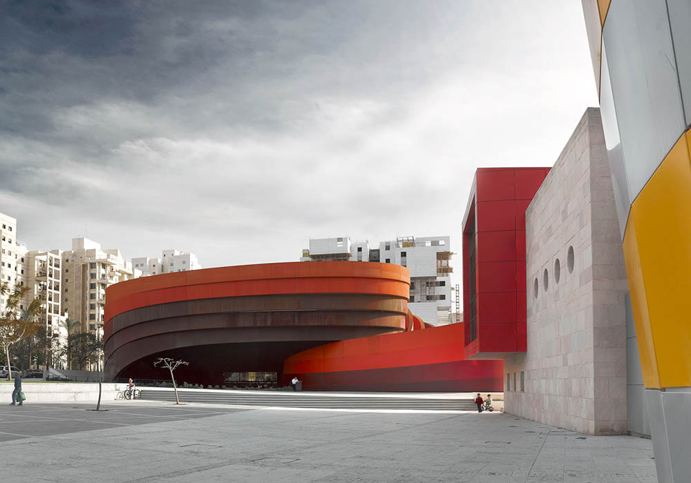Design Museum Holon (Ron Arad, architect)