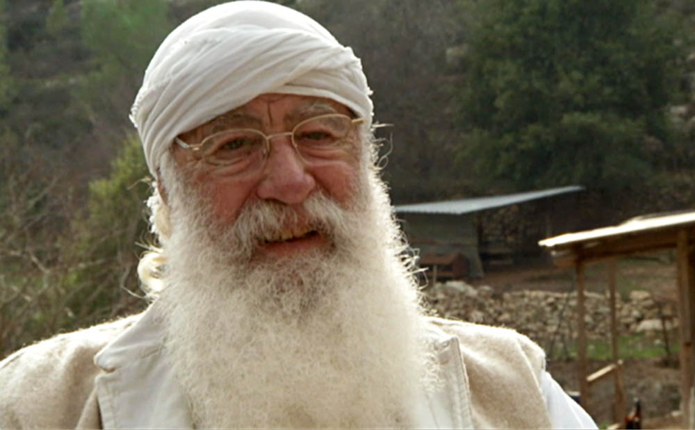 Shai Seltzer in a still from the film  The New Cuisine of Israel