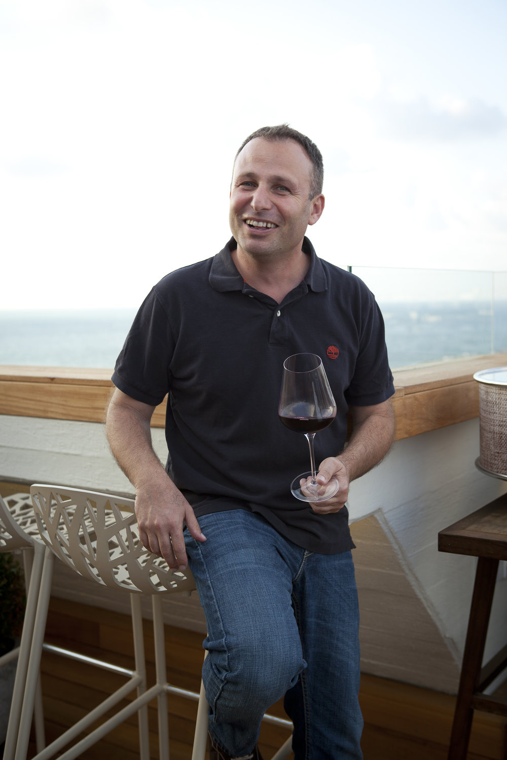 Chief winemaker Lior Lacser. Photo courtesy Carmel Winery
