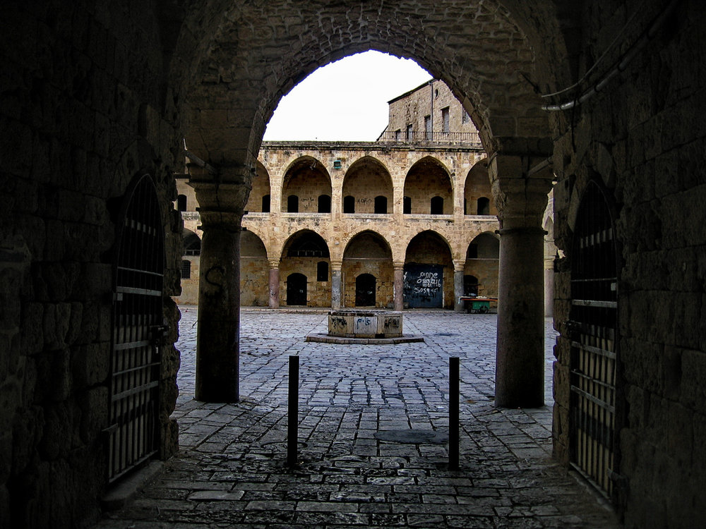 Akko marketplace. Photo by Bon Adrien, courtesy   Creative Commons