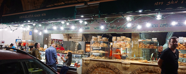 Arab-Israeli-run Abouelafia bakery in Jaffa. Photo by Ted Eytan, courtesy  Creative Commons