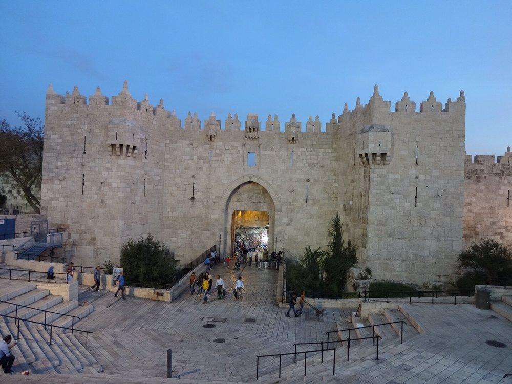Damascus Gate, Old City of Jerusalem