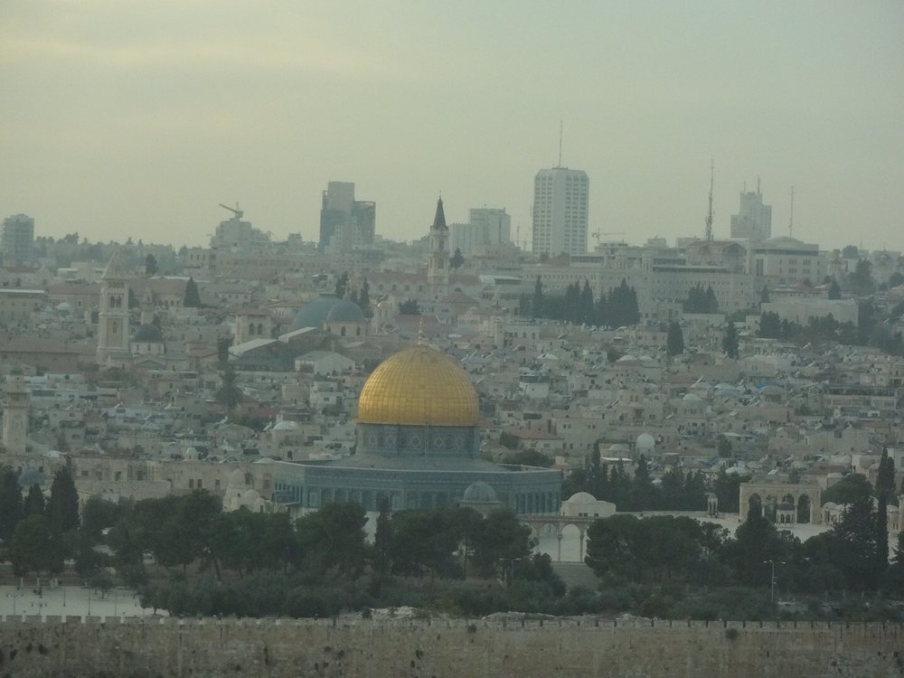 View of Jerusalem from the Damascus Gate