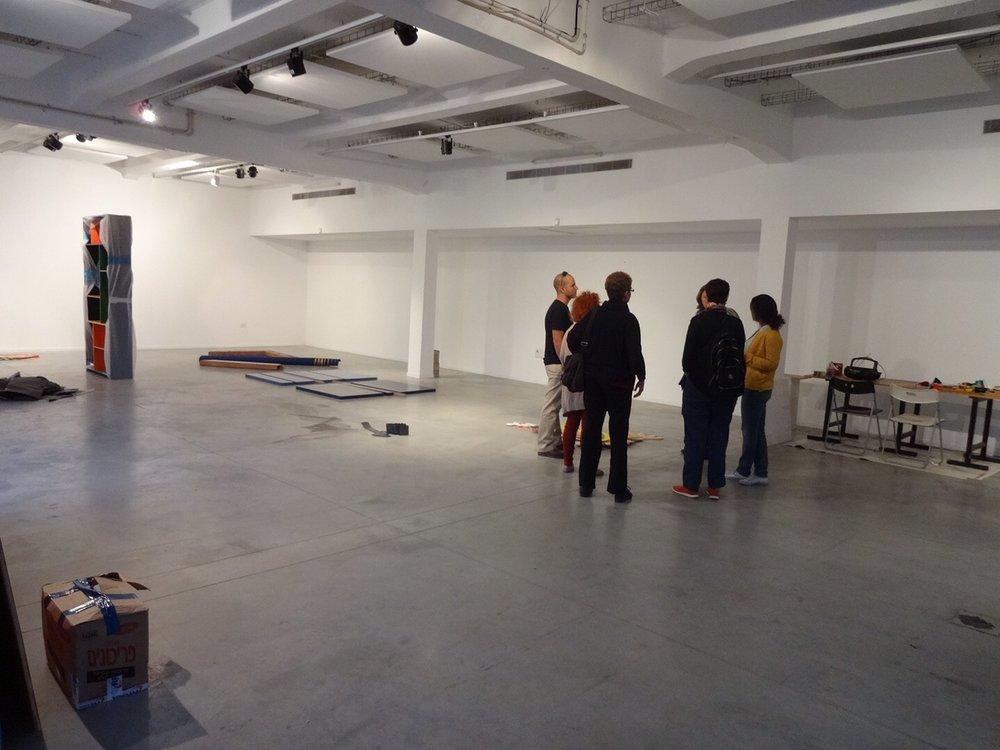 Jason Arison's arts-residency center, Artport Tel Aviv, South Tel Aviv