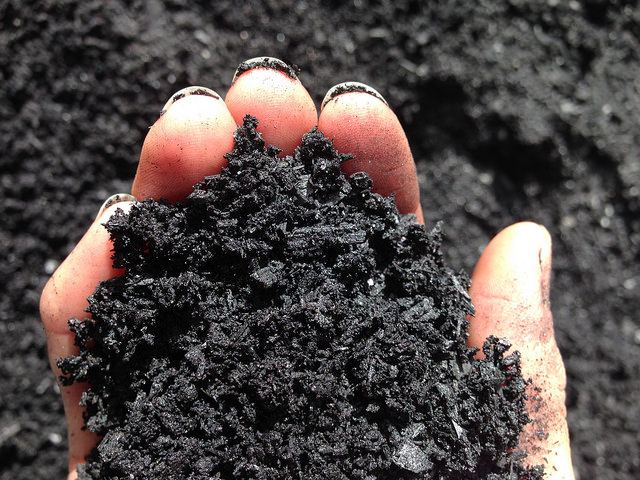 Biochar. Photo courtesy Simon Dooley via Creative Commons License.