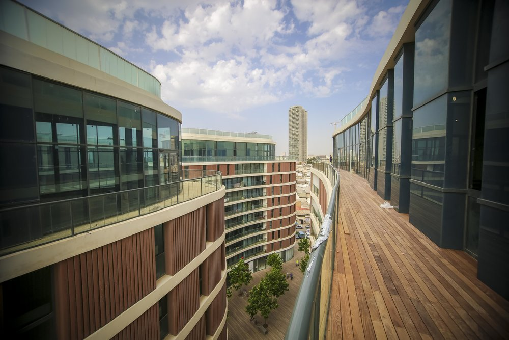 The new development of 4 Florentin. Photo by Guy Yechiely, Tel Aviv Municipality