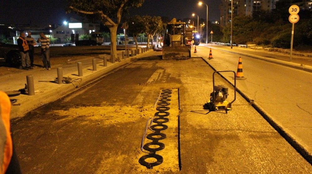 ElectRoad technology can be retrofitted to one kilometer of road in just half a day. Photo: courtesy
