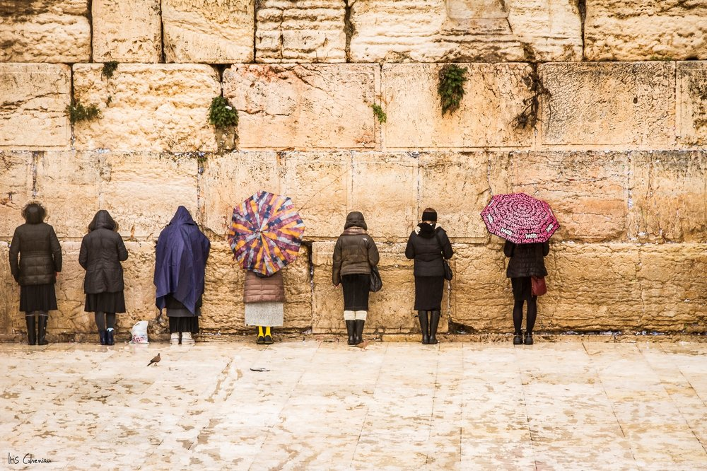 "Women at the Wall"" by Iris Cohenian. Courtesy of Passage to Israel"
