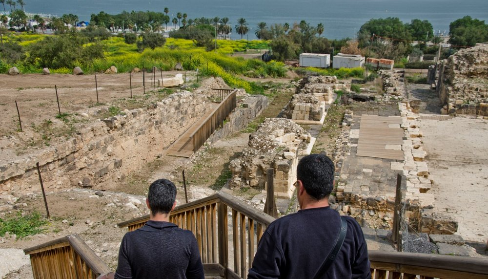 The Sanhedrin Trail will cross the Lower Galilee by way of many historic sites, such as the Roman theater of Tiberias shown here. Photo courtesy of Israel Antiquities Authority