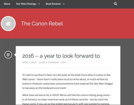 Star Wars Canon Rebel