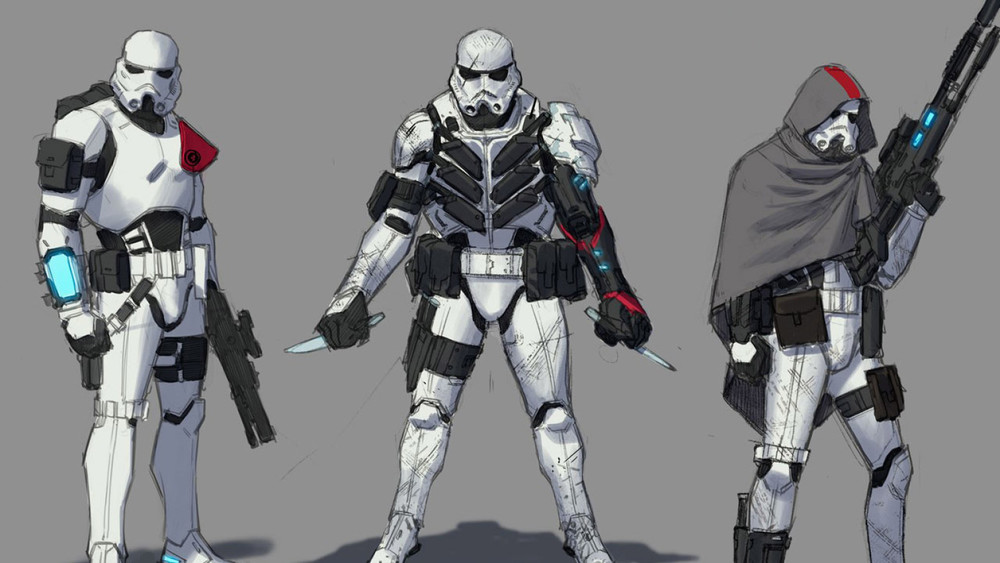 Elite Stormtroopers - Will be seen in Star Wars #21