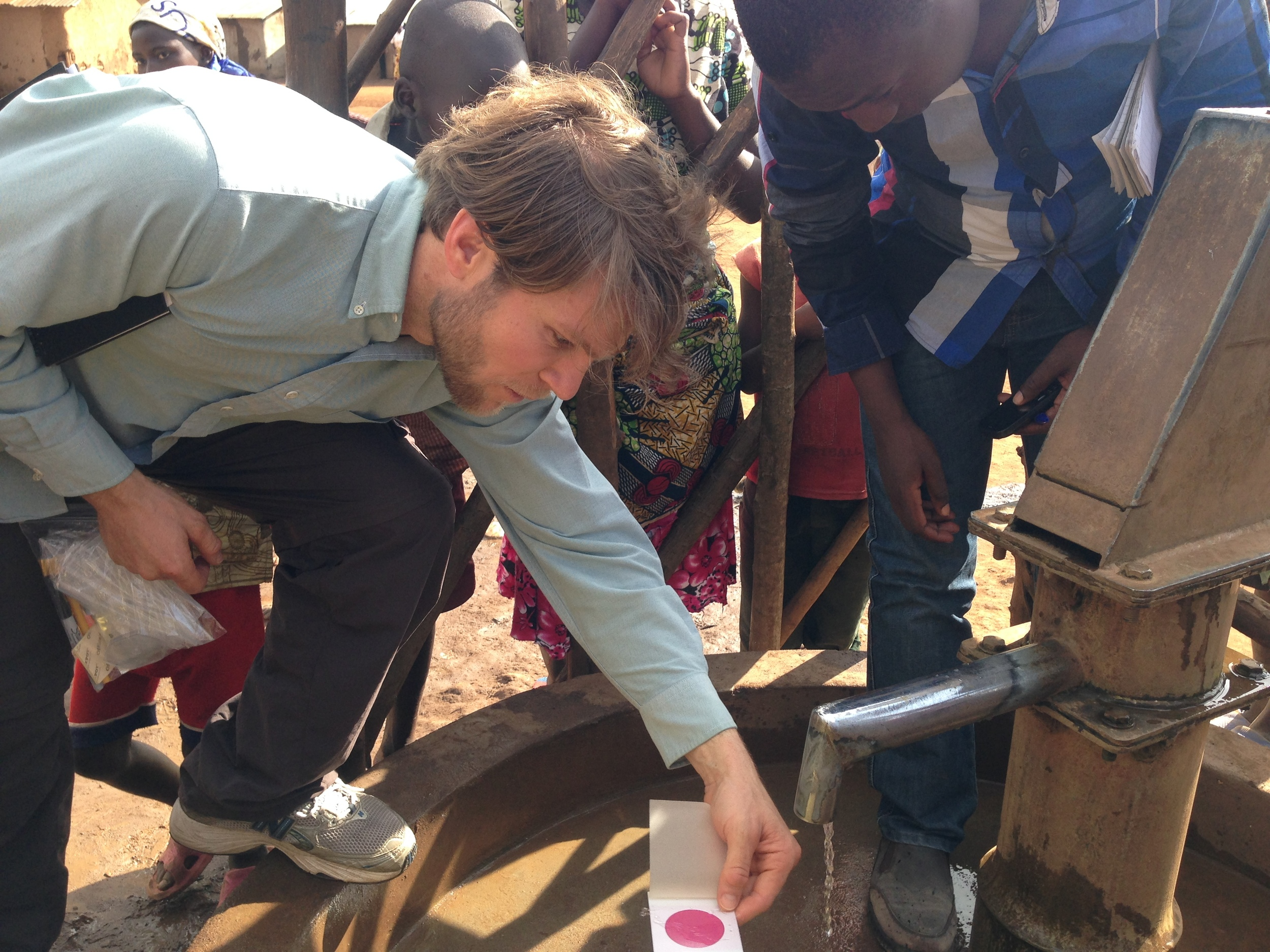 Uganda-Water-Sampling