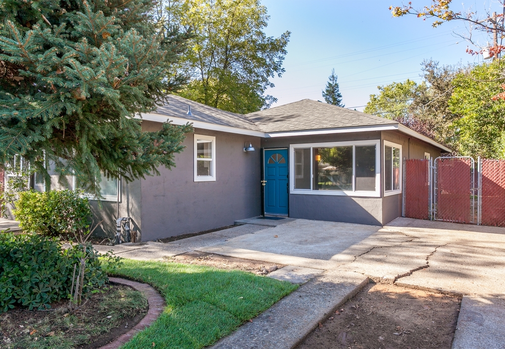 Colusa Street House Before & After Renovation