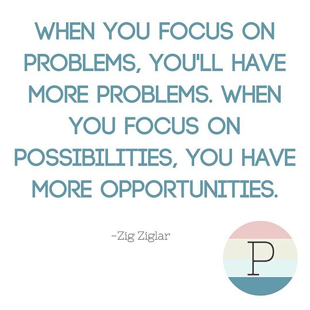 This is so true,  especially true at work, and often it's as simple as reframing the situation. There are so many things that tend to be broken, when you work for someone else. You have a choice as to whether you want to focus on the problems or the possibility. I see thees challenges as opportunities to learn, grow, and develop my career. Fixing problems is a great way to great opportunity.  What possibilities will you discover today?