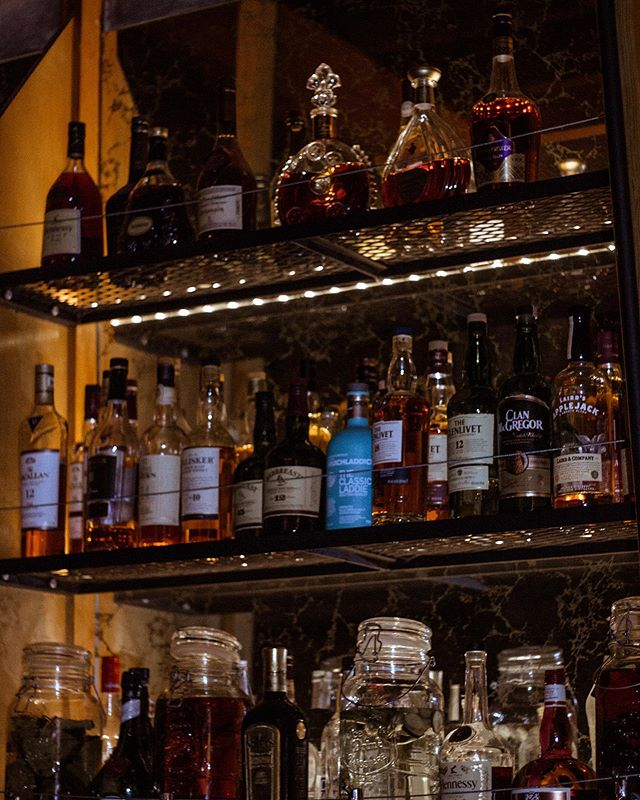 Which bottle are you eyeing right now? 🚂🤩 . Reserve a table at: http://www.themelrosestation.com/make-a-reservation/ . . . . .  #melrosestation #getonthetrain #speakeasy #craftcocktails #7384MelroseAve #findthehost #cocktails #nightout #wine #beer #goodtimes #losangeles #hollywood #westhollywood #melroseave #secretbars #totc #talesofthecocktail #craftbartender #mixology #cocktailporn #drinkoftheday #cocktailart #drinkstagram #instacocktail #getinmybelly #foodporn #imbibe #imbibegram #thefeedfeed