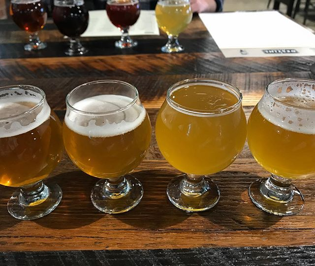 What up from @destihlbrewery! Always a good stop for tasty drinks (seriously, try a beer-tail). I got a flight and have to say the Amra Mango IPA was probably the best IPA I've ever had before 🍻- Dakota