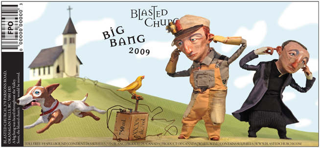 Big Bang <br> Blasted Church Vineyards