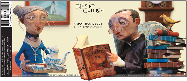 Blessings <br> Blasted Church Vineyards
