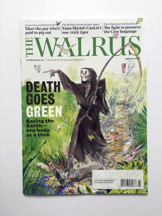 Death Goes Green <br> The Walrus