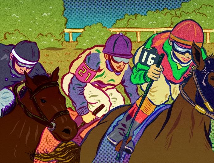 Jockeys <br> Hemispheres Magazine
