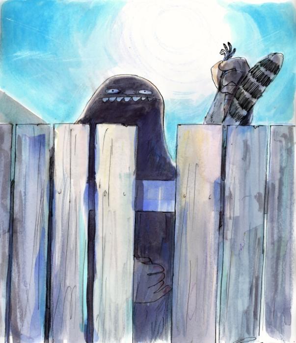 Bigfoot Fence <br>