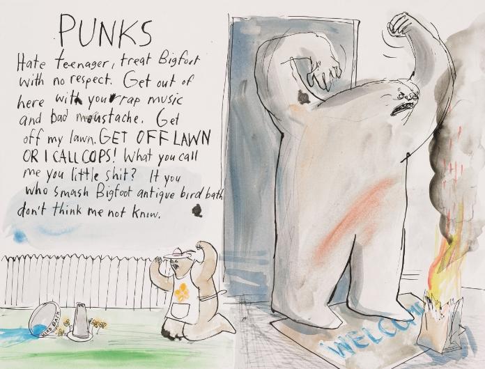 Punks <br> Plume