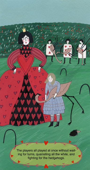 Alice and the Red Queen <br> Frances Lincoln Children's Books