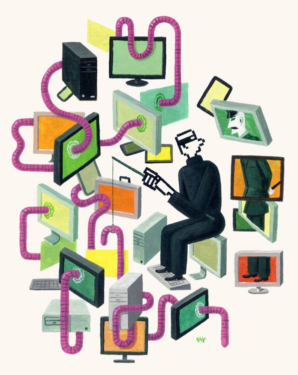 Cybercrime <br> Humo Magazine