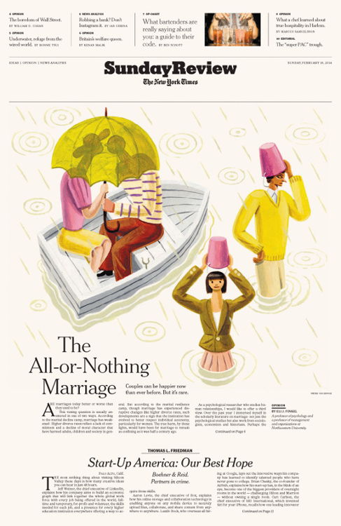 All Or Nothing Marriage <br> The New York Times