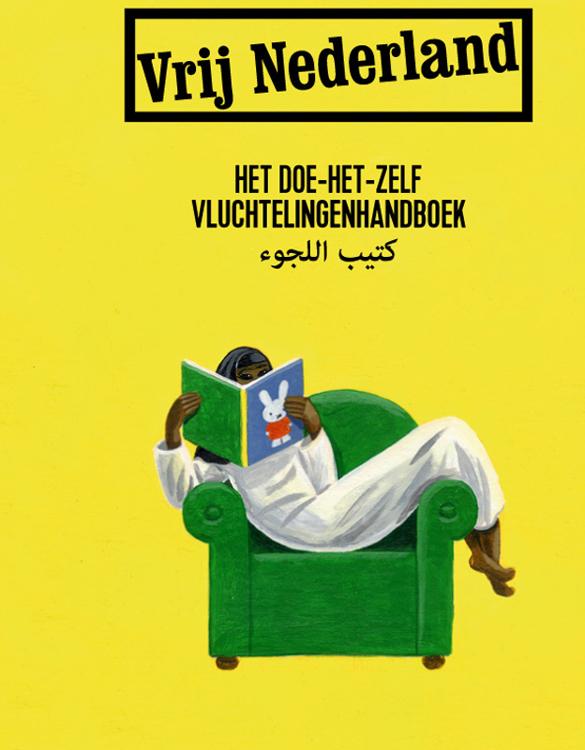 Self Help Refugee Handbook - cover <br> Vrij Nederland