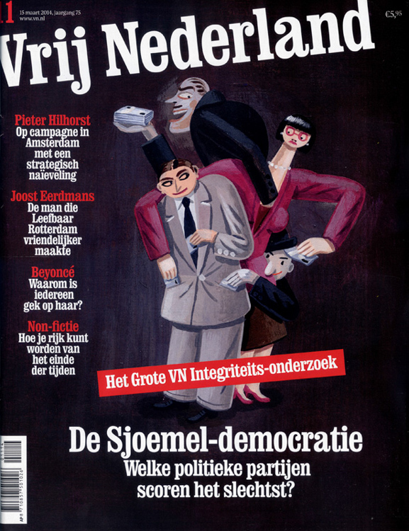 Corruption - cover <br> Vrij Nederland