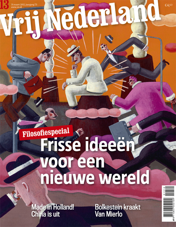 Philosophy - cover <br> Vrij Nederland