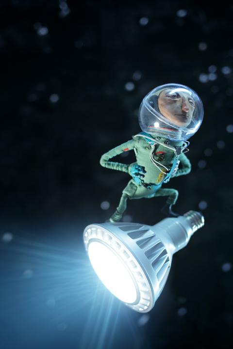 LED Spotlight <br> Angie's List