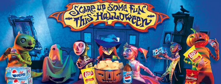 Halloween <br> Pepsi Frito Lay