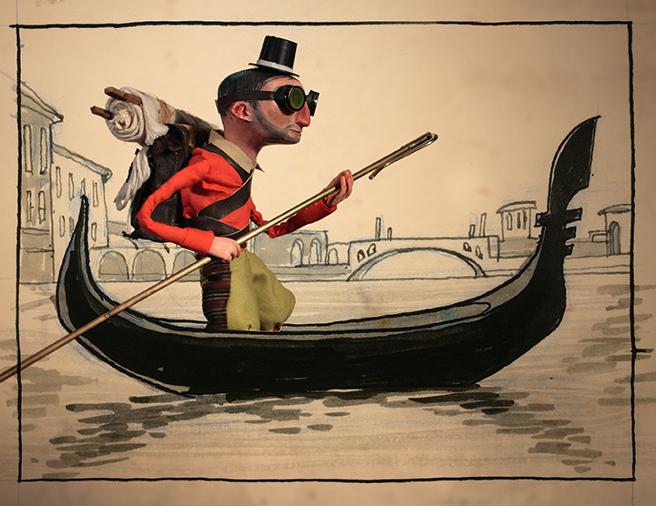 Journeys - Gondola <br> The New Yorker